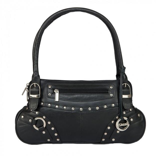 3bae1650f9 Designer Leather Top Handle Side Bag for Girls - Hand-held Bags - Handbags  - Women - Klasse Leather