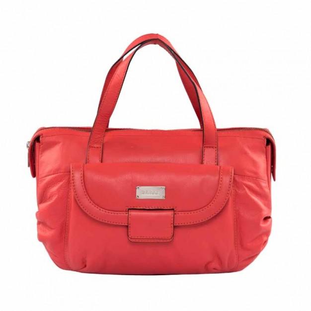 66b68b69f4 Fashionable Top Handle Genuine Leather Ladies Bag - Hand-held Bags -  Handbags - Women - Klasse Leather