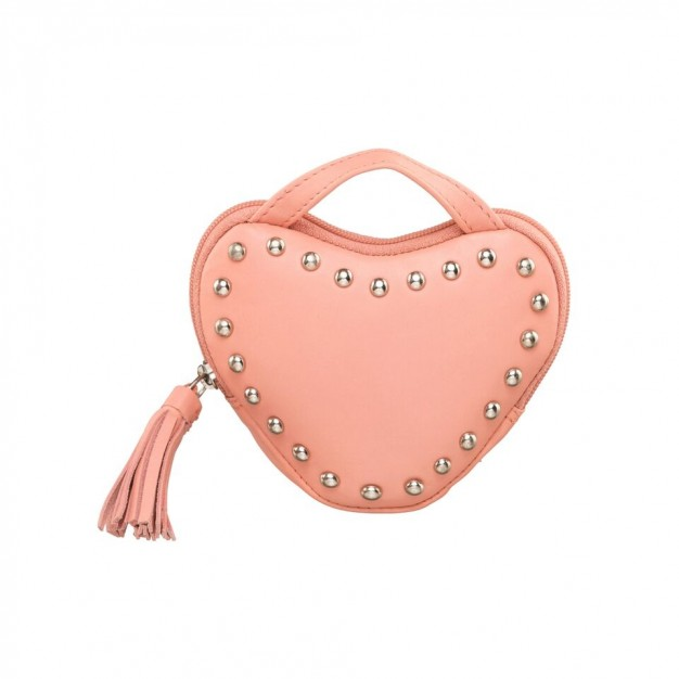 a53f4129c00 Leather Hand Purse Love Shape Wallet Clutch For Girls & Women